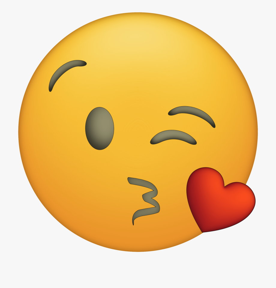 Kiss clipart small. Thank you emoji png