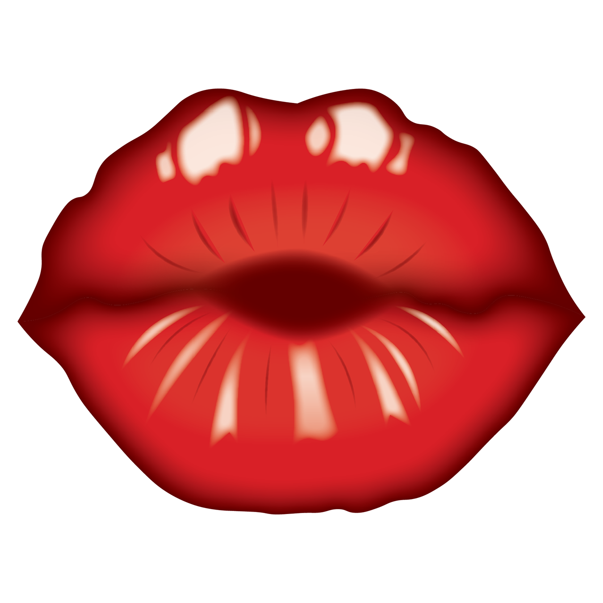 Kiss clipart smooch. Lips project on behance