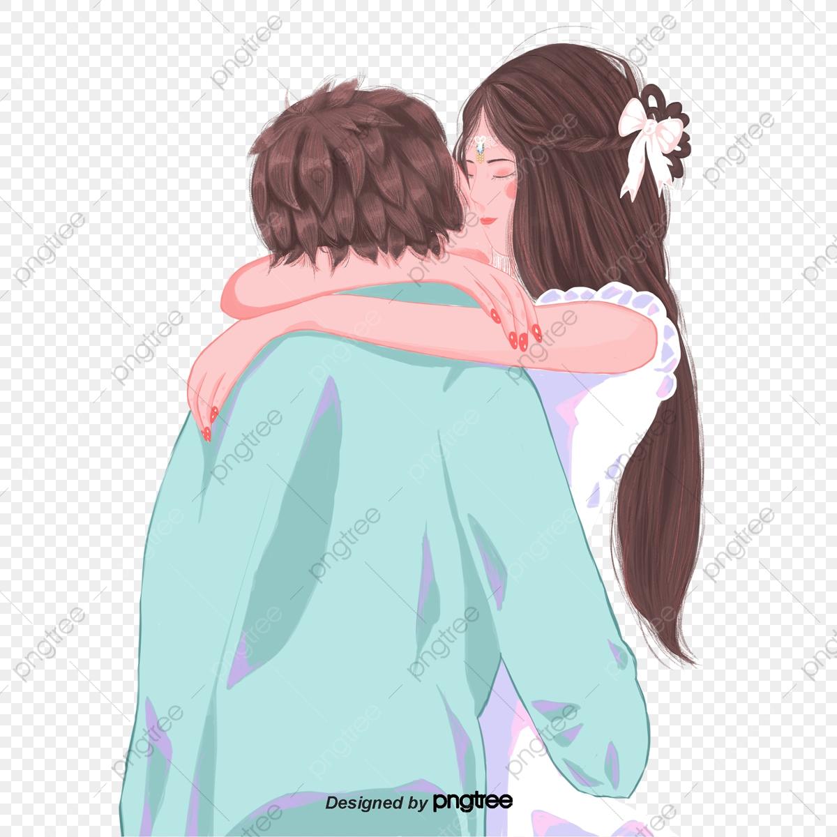 Kiss clipart sweet. A couple kissing girl