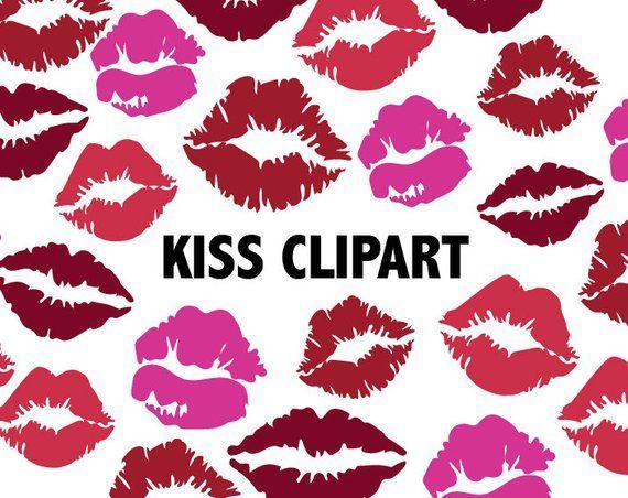 Kiss lipstick icons printable. Lips clipart scrapbook paper