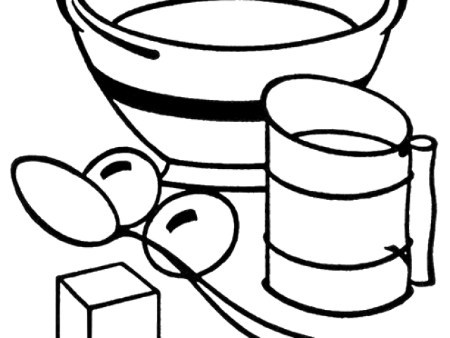 Utensils clipartxtras for download. Kitchen clipart black and white