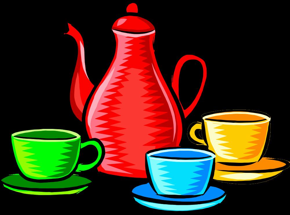Kitchen clipart crockery. Onlinelabels clip art coffee