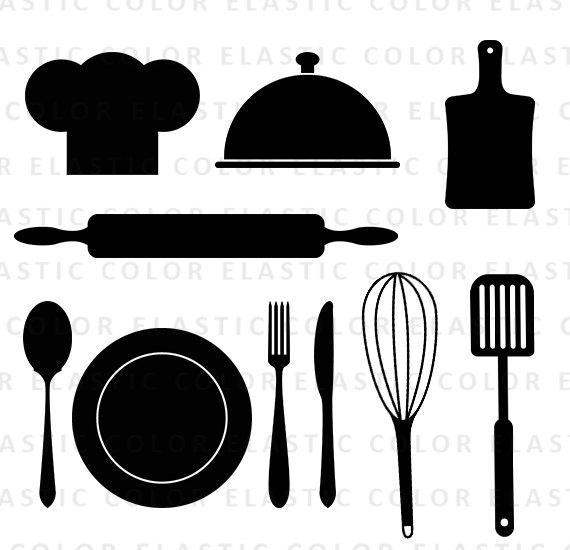 Restaurants clipart tool. Kitchen svg utensils restaurant