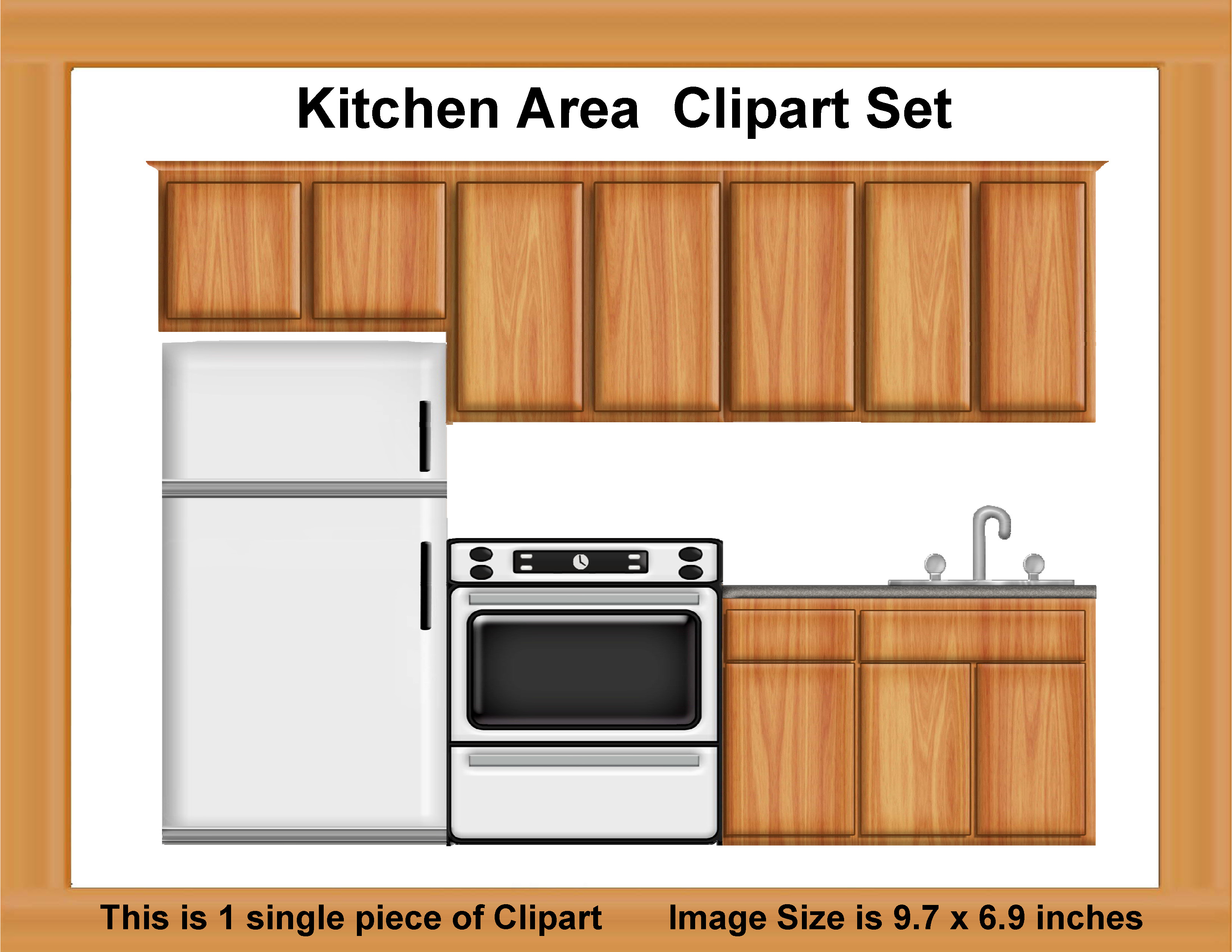 Oven clipart kitchen furniture. Cabinet pencil and in