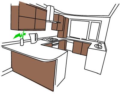 G shaped kitchens build. Kitchen clipart kitchen layout