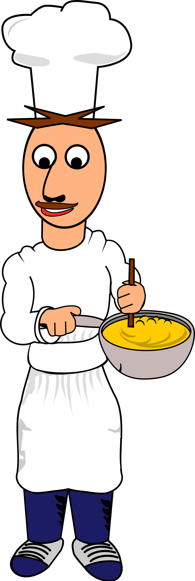 Big image png. Cooking clipart male cook