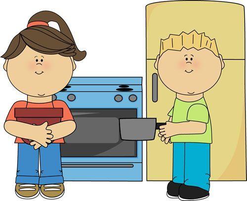 Image result for kids. Kitchen clipart preschool
