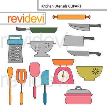 Kitchen clipart utensils. Clip art