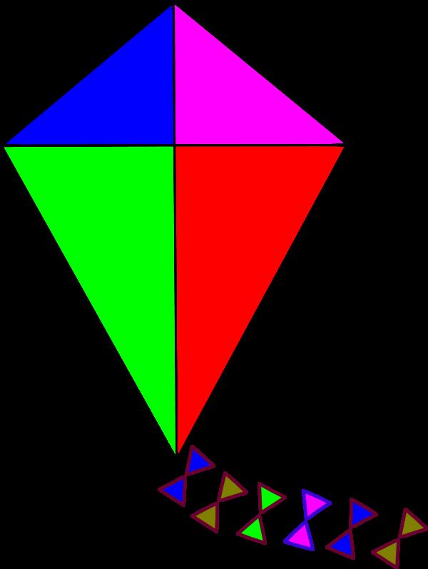 Clip art images panda. Clipart toys kite