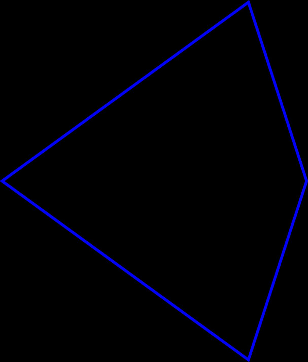 Penrose tiles big image. Kite clipart animated