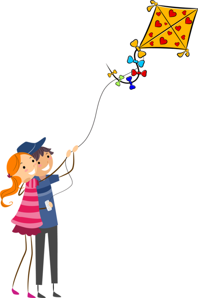 Kite clipart girl holding. Free flying cliparts download