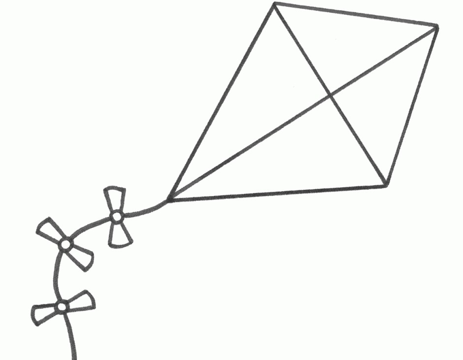 Kite clipart kite outline. Free cliparts download clip