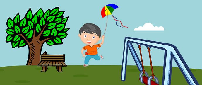 Kite clipart kite thread. The without a moral