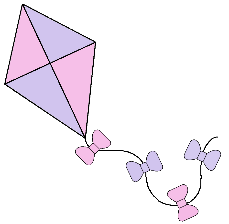 kite clipart small