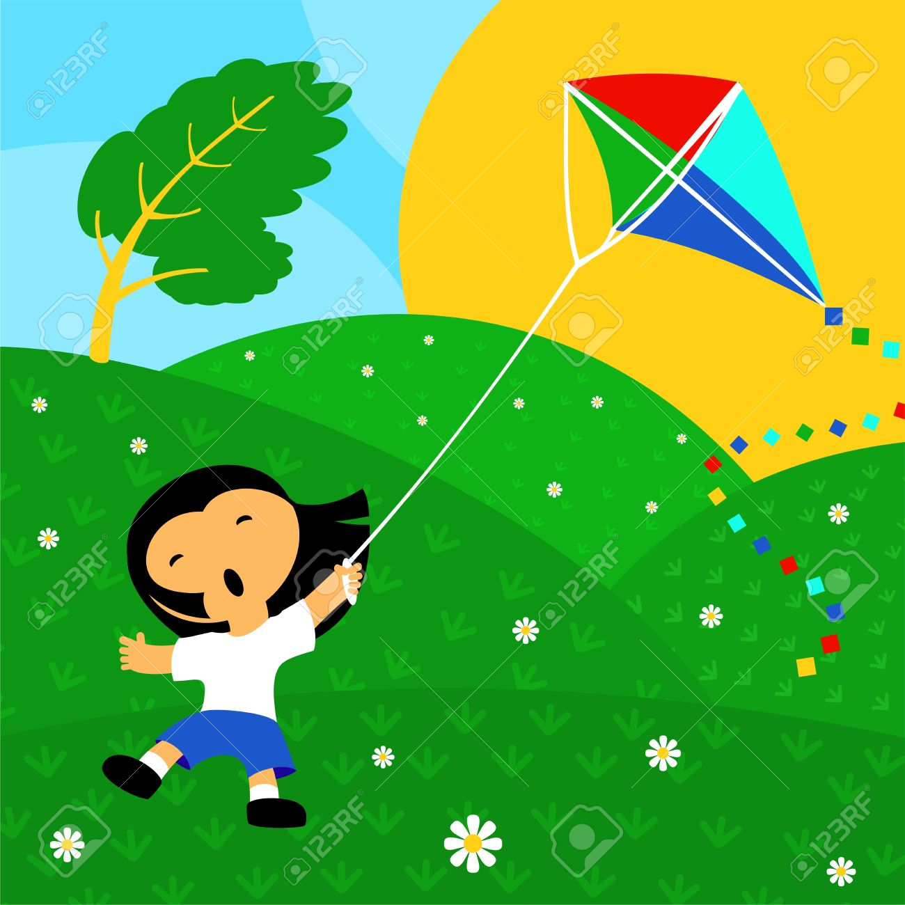 Windy clipart kite. Day portal