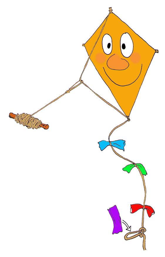 Kite clipart yellow. Autumn making a for