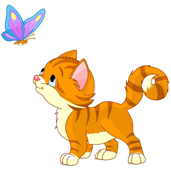 Kitten clipart. Cat at getdrawings com