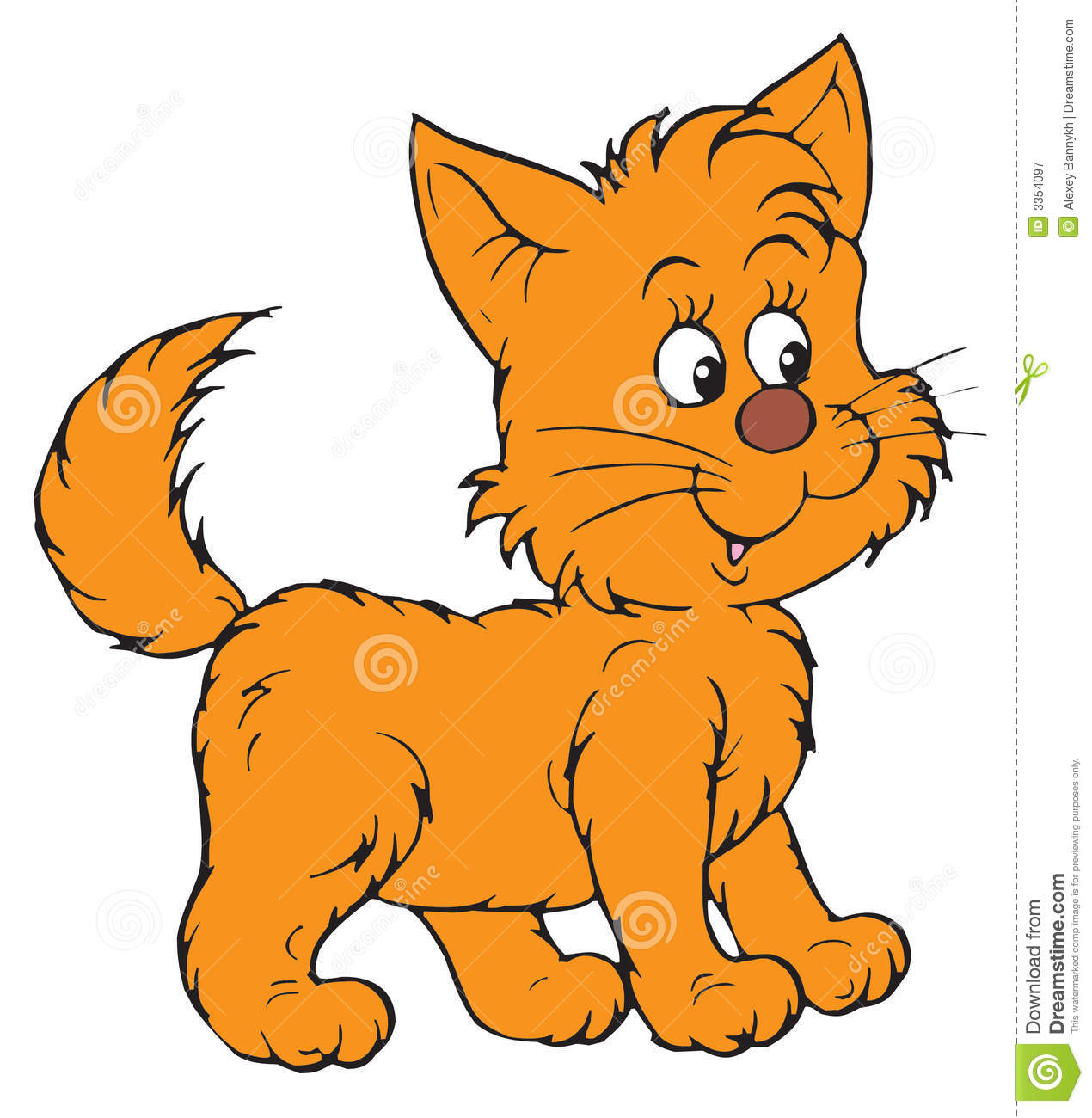 Kitten clipart baby kitten. Collection of free download