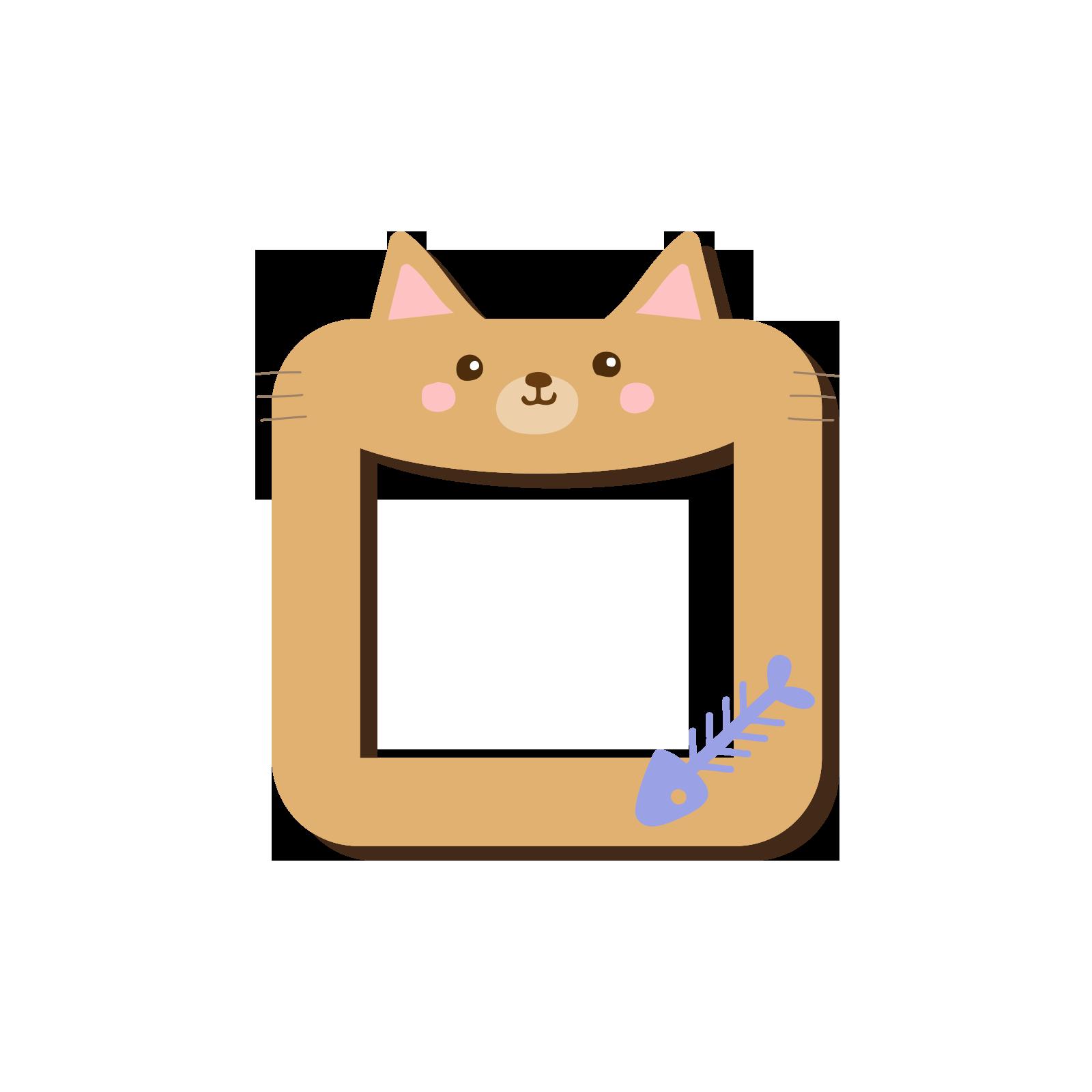 Cat kitten hello kitty. Kittens clipart border