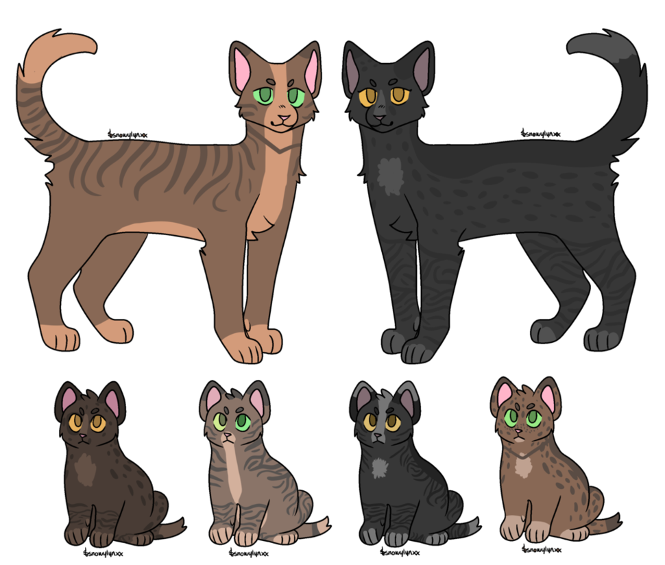 Kitten adopts closed by. Kittens clipart cat family