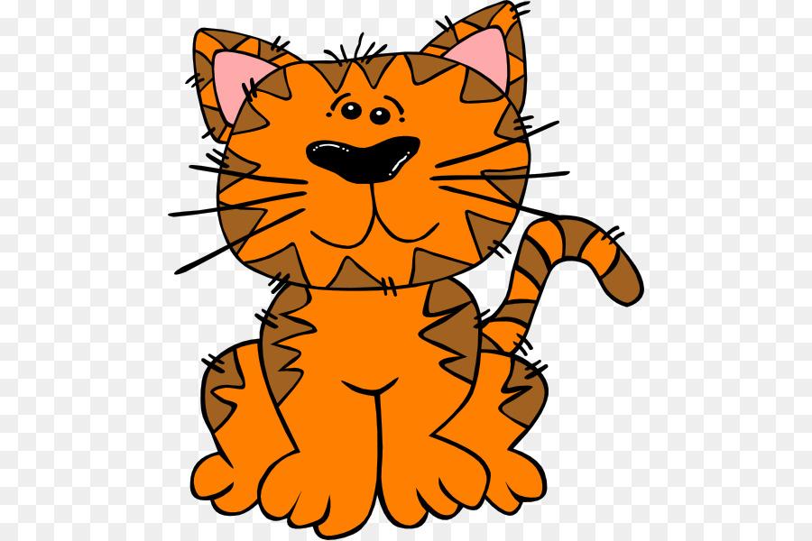 Black clip art orange. Kitten clipart cat sat