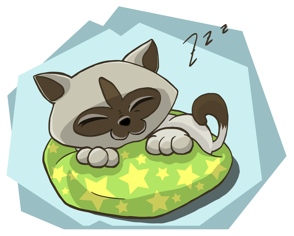 Kittens clipart playful. Free siamese cat page