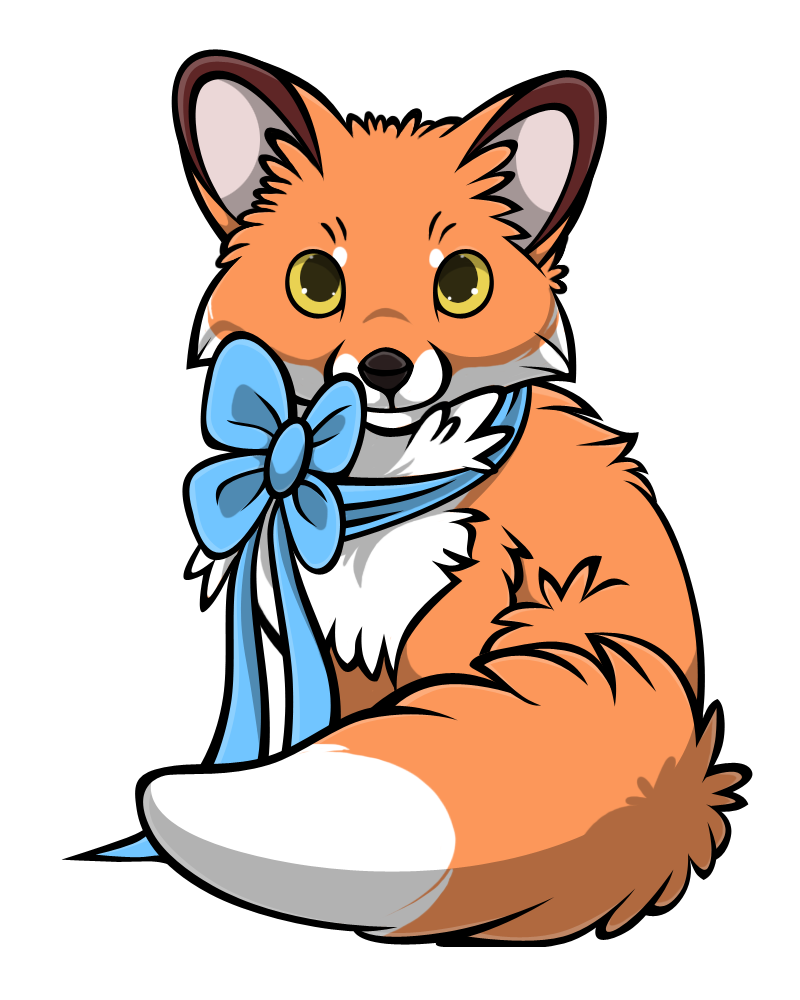 Free fox base by. Kittens clipart fluffy