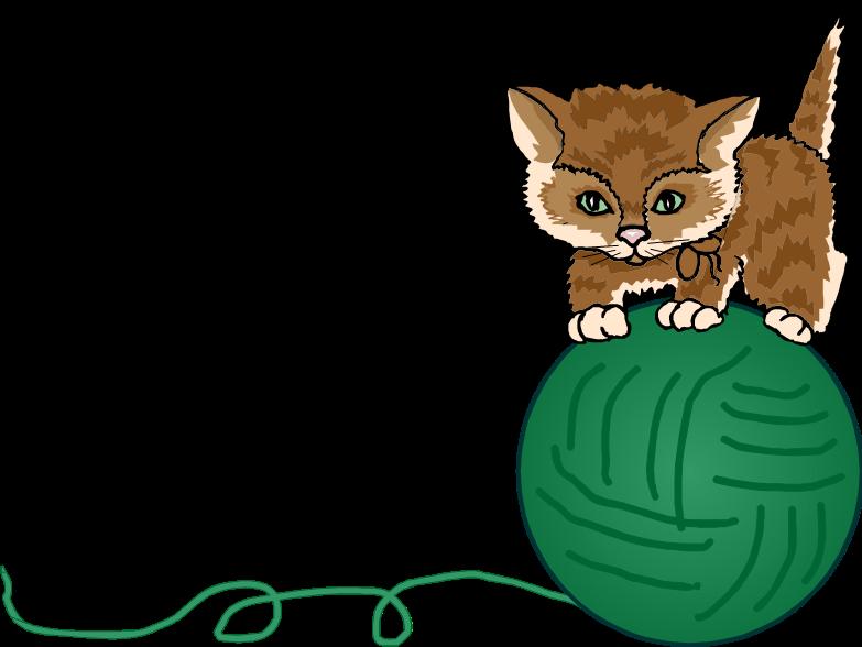 kitten clipart four