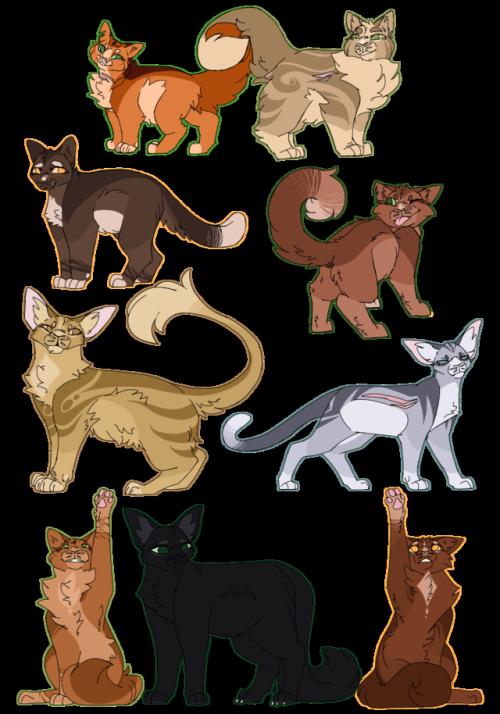 Kitten clipart gingerly. Firestar s family tumblr