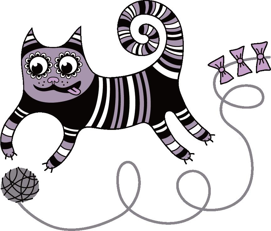 kitten clipart illustration