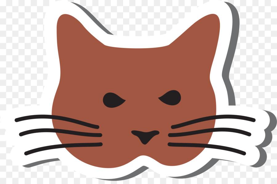 Kitten clipart kitten head. Cartoon cat nose transparent