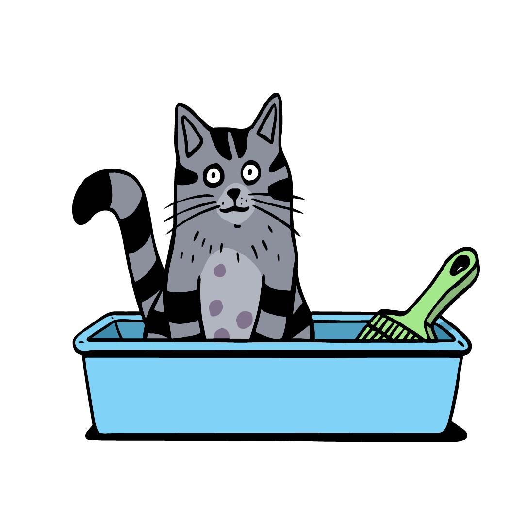 Kittens clipart litter kitten. How to train a