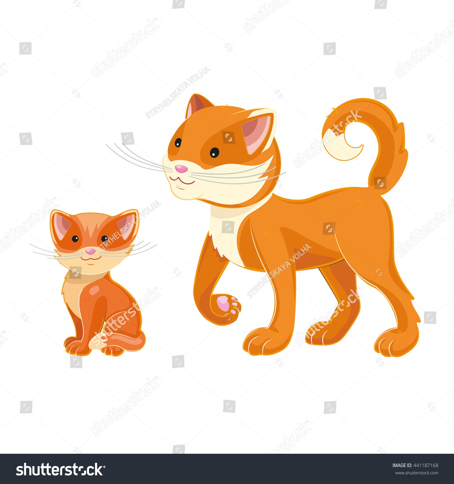 And kitten portal . Kittens clipart mother cat
