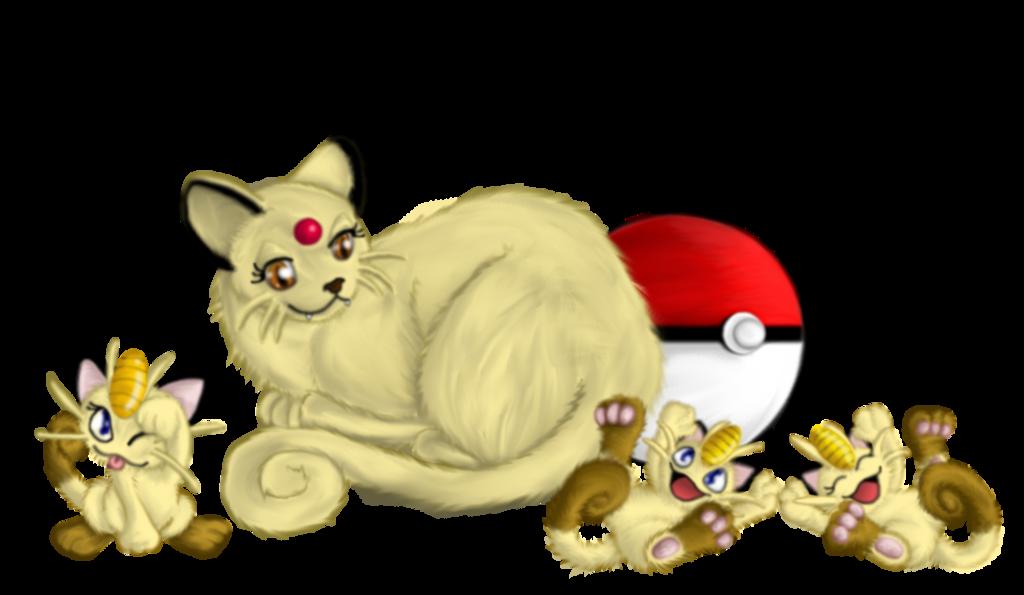 kitten clipart mama cat