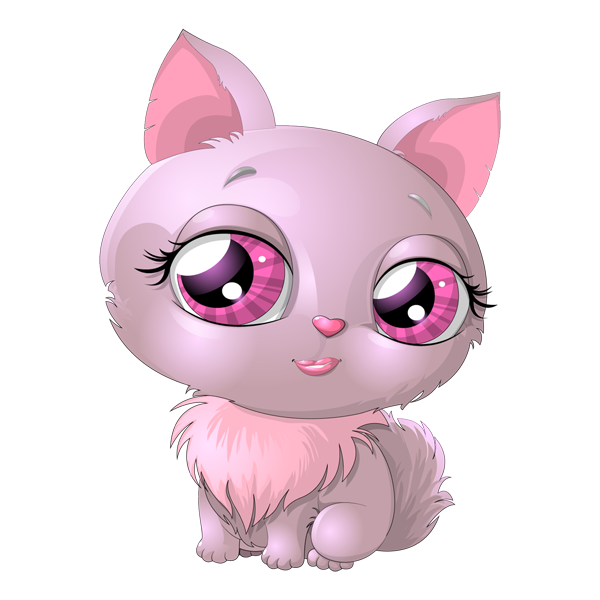 Kitten clipart pink cat. And precious pinterest clip