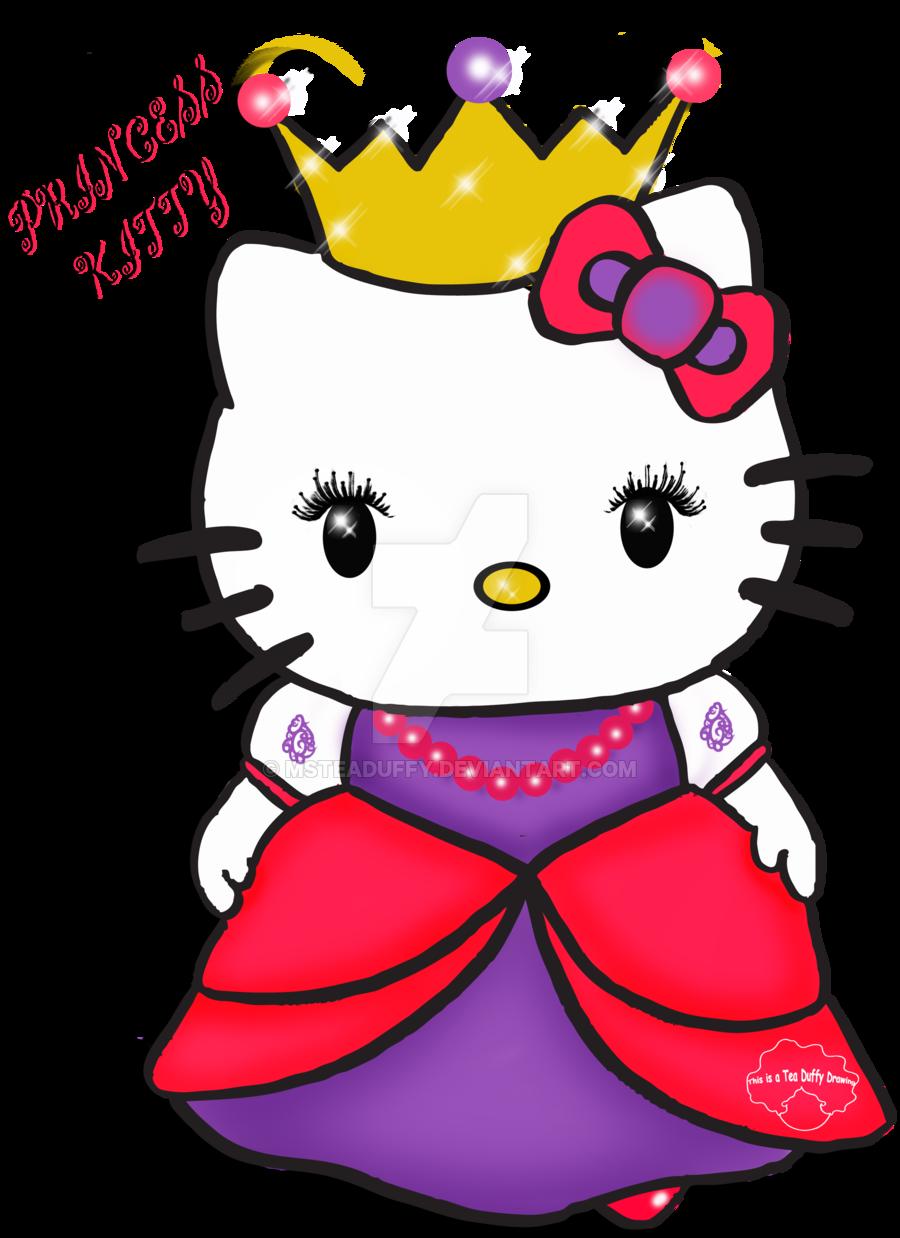 Kitten clipart princess. Hola gatita favourites by