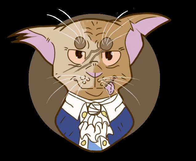 Aaron the hamilcats twitter. Kitten clipart purr