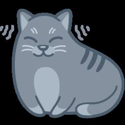 Free download clip art. Kitten clipart purr