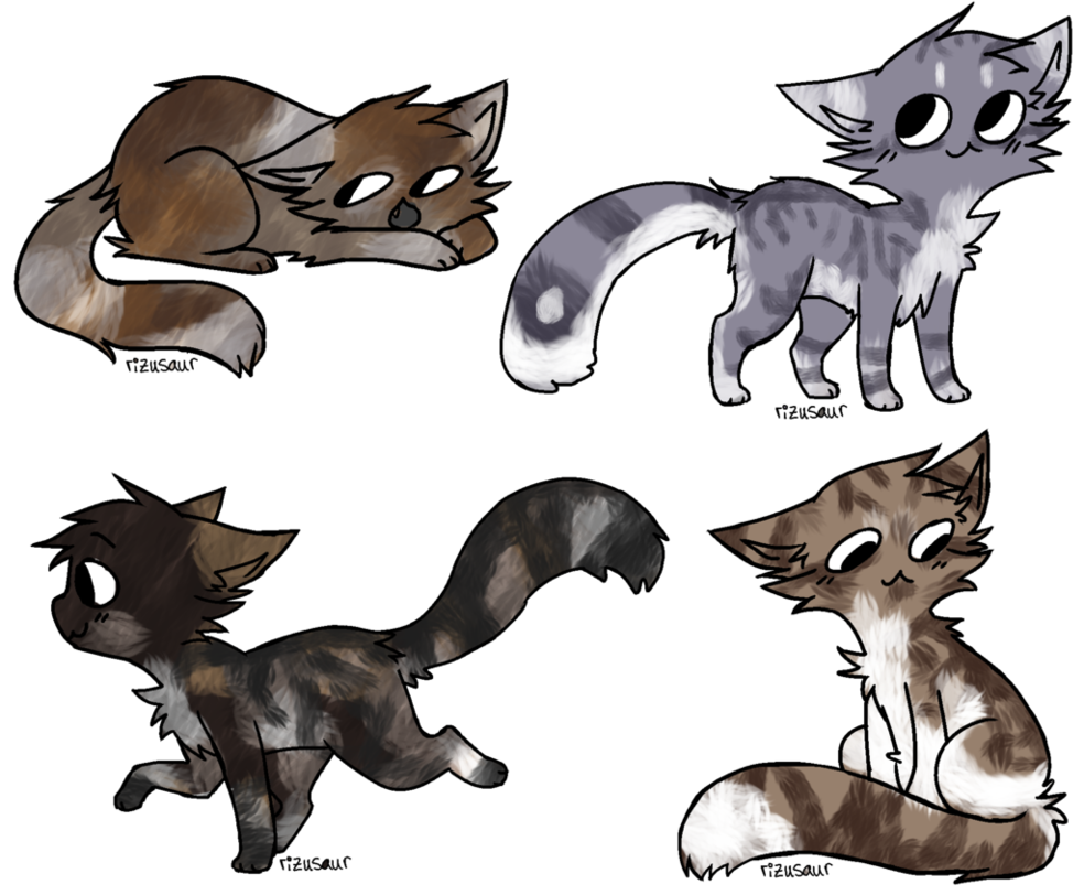 Cat adoptables batch by. Kitty clipart realistic