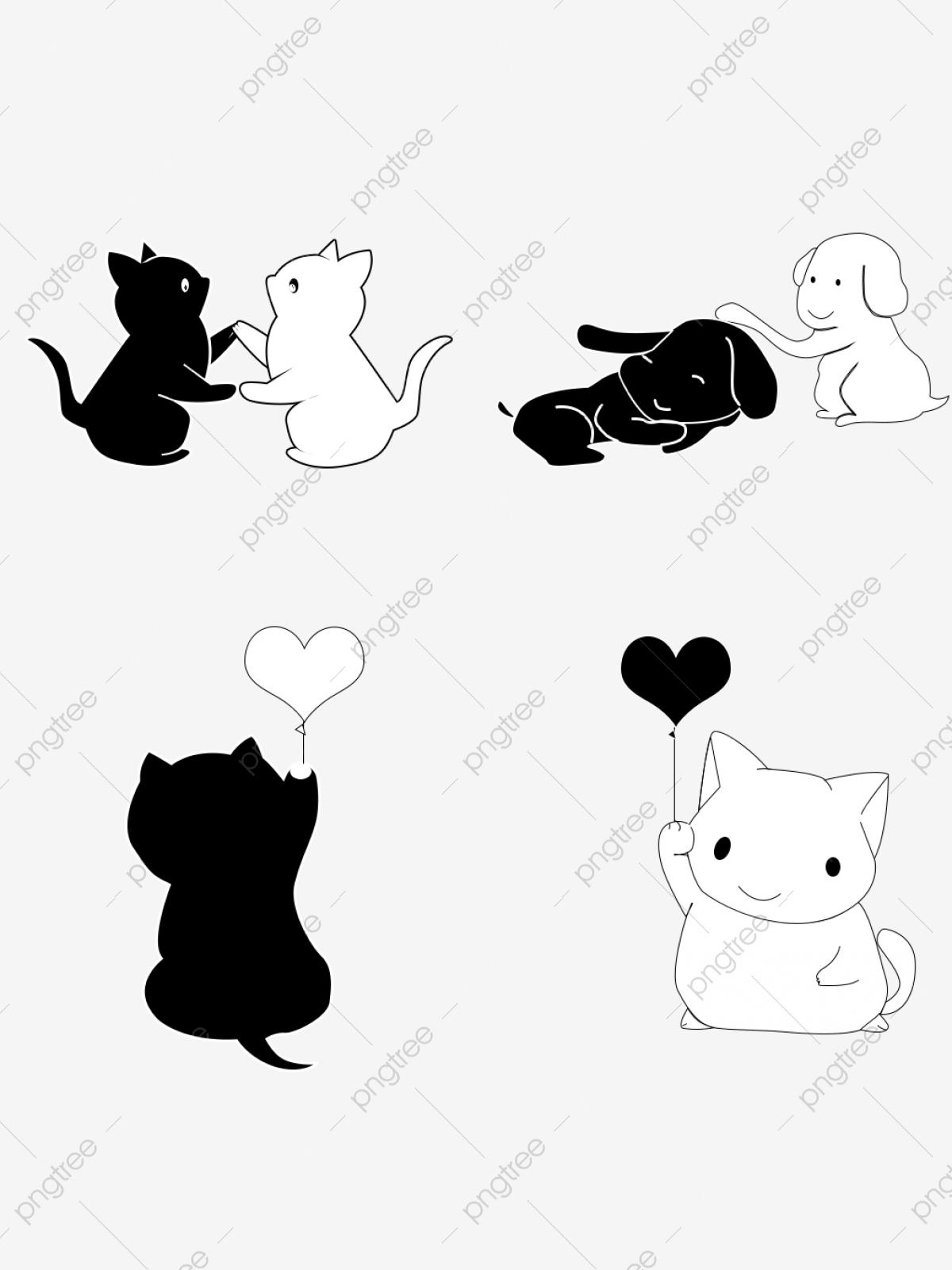 Kittens clipart row. Puppy or kitten sitting