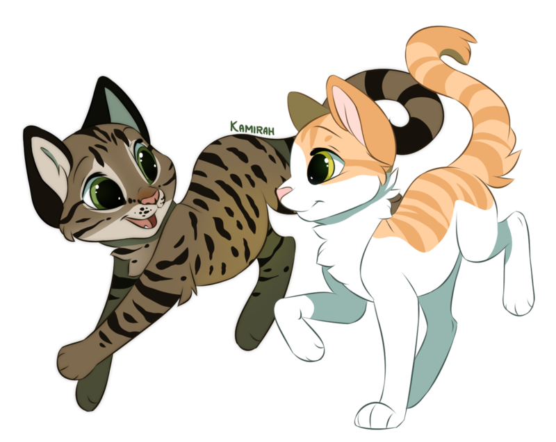 Kitten clipart striped cat. Commission f e l