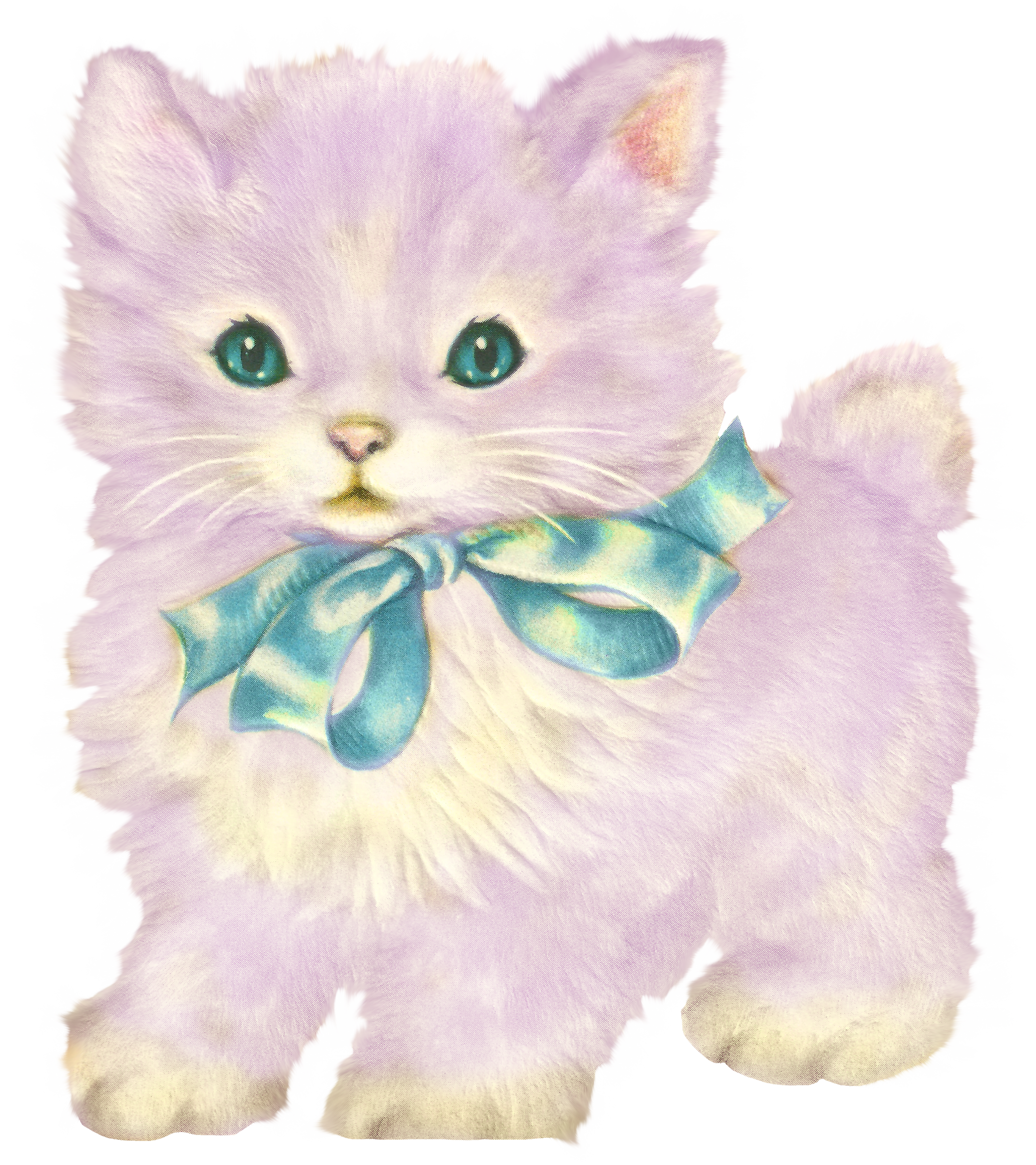 Kittens clipart three. Kitschy kitty cat clip