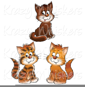 Free little images at. Kittens clipart three