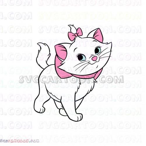 Marie the white kitten. Kittens clipart aristocats