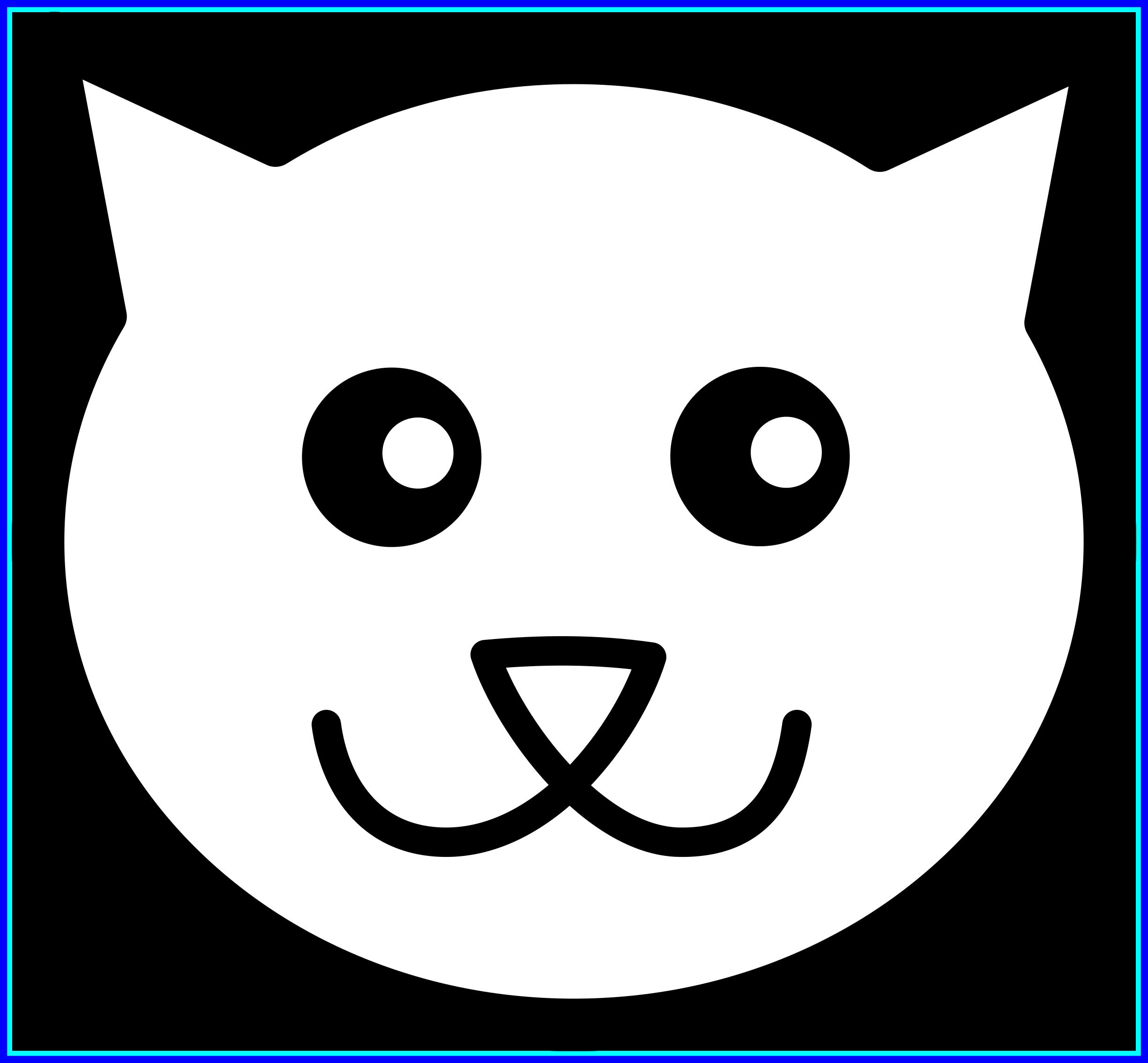 Kittens clipart black and white. Amazing best clip art