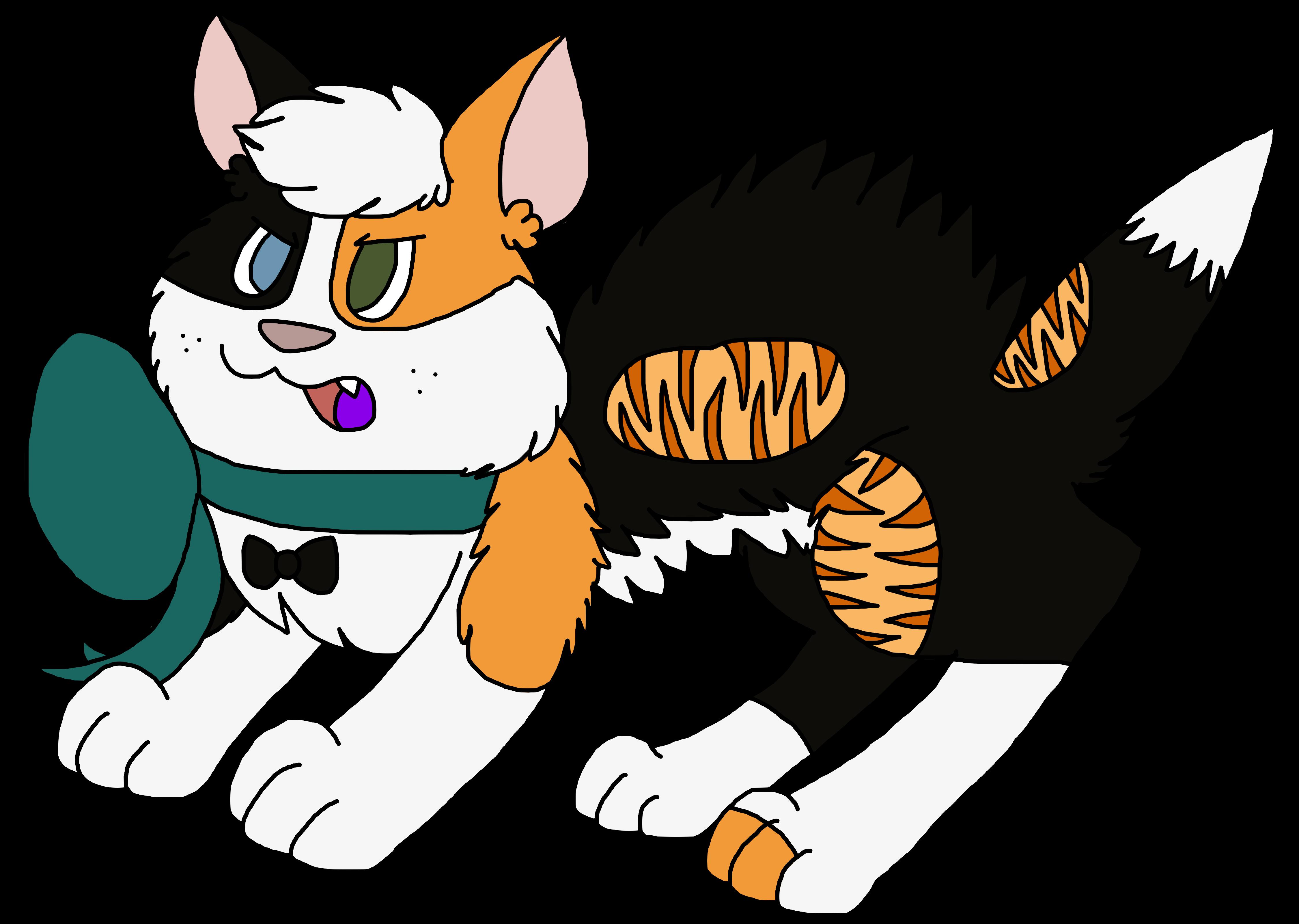 Angery kitten weasyl. Kittens clipart calico