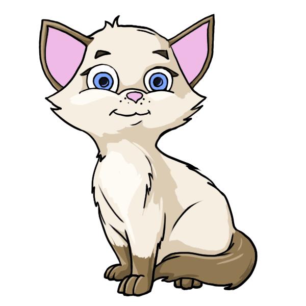 Adopted miss purrrfect sweet. Kittens clipart litter kitten