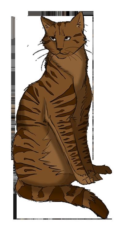 Feathertail s profile . Kittens clipart litter kitten