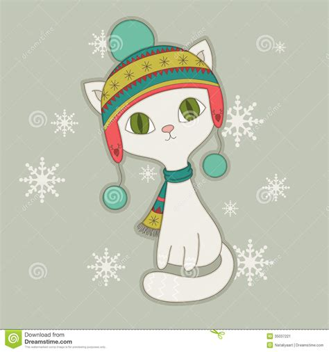 Kittens clipart winter. Best cats in hats