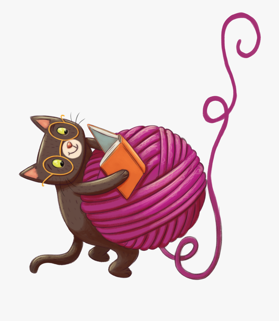 Cat free cliparts on. Kittens clipart yarn clip art
